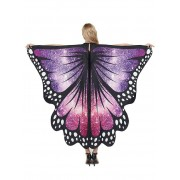 Rosegal Cape d'Halloween de Soirée Cosplay Aile de Papillon 168 * 135cm