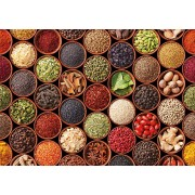Puzzle Educa - Herbs and spices, 1500 piese, include lipici puzzle (17666)