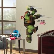 RoomMates Calcomanías de pared, quita y pega, Teenage Mutant Ninja Turtles, Una talla, Gráfico