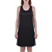 Calvin Klein Dámské šaty Mesh Insert Tank Dress KW0KW00711-094 PVH Black M