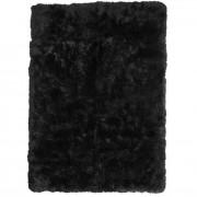 nimarahome.de Lammfell-Teppich, schwarz, 120x180 cm - Neuseeland