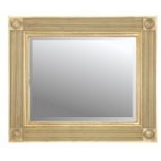 Roman Gold 30x20 Traditional Mirror