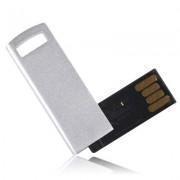 4GB Metal Series USB 2.0 Flash Disk (Silver)