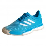 adidas Sole Court Boost Clay Tennisschoenen Dames - blauw