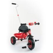 Gyerek háromkerekű bicikli Milly Mally Boby TURBO red