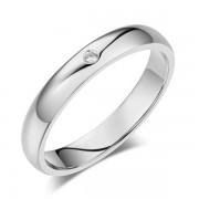 Inel Borealy Aur Alb 14 K Natural Diamond Women s Style Wedding