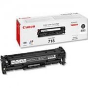 Тонер касета за Canon LBP CRG 718 BK - CR2662B002AA