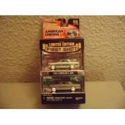 Johnny Lightning American Chrome 1955 Chrysler C-300 Set