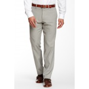 Kenneth Cole Reaction Stretch Heather Pants - 29-34 Inseam OATMEAL