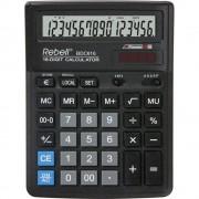Calculator de birou, 16 digits, 193 x 143 x 38 mm, Rebell BDC 616 - negru
