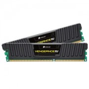 Memorie Corsair Vengeance LP Black 8GB (2x4GB) DDR3 1600MHz CL9 1.35V, Dual Channel Kit, CML8GX3M2C1600C9