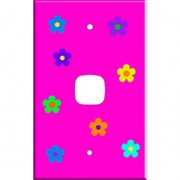 Light Switch Cover by Homeplates - Flower