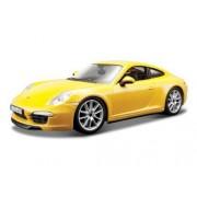 Porsche 911 (997) Carrera S Yellow 1/24 by Bburago 21065