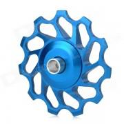 BH-014 Bicicleta de bicicleta 11T ruedas de aleacion de aluminio Derailleur trasero polea - azul