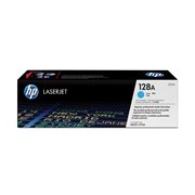 HP 128A Toner Cartridge - Cyan