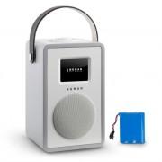 NUMAN Mini Two Design Internet Radio WiFi DLNA Bluetooth FM greyincl. Battery