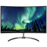 "Monitor Gaming LED Philips 31.5"", Curbat, Full HD, VGA, HDMI, Display Port, Ultra wide colors, FreeSync, Speakers, 328E8QJAB5, Negru"