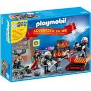 Комплект Плеймобил 5495 - Коледен календар - пожарна команда - Playmobil, 291113