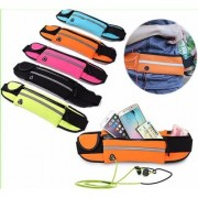Satya Sports Waist Pouch/Running Belt Band Zipper Bag Pocket Armband Phone/Bags/Gym Traning Cycling Biking Running