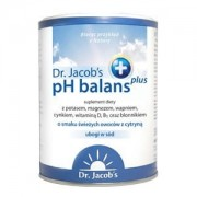 pH balans PLUS proszek zasadowy - DR. JACOB'S