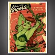 DC Bombshells Poison Ivy 46 x 61 cm