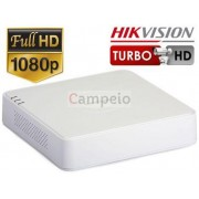 DVR TURBO HD 3.0 - 8 Ch IN Video Hikvision DS-7108HQHI-F1/N