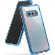 Husa Samsung Galaxy S10e Lite Ringke Fusion Transparent Albastru