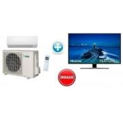 "Daikin MONO Serie K DC INVERTER SMALL CLASS FTXS20K/RXS20L 7000 BTU/H P/C + Omaggio Hisense TV LED 32"" H32B5500 DVB-T2"