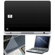 FineArts Laptop Skin 15.6 Inch With Key Guard & Screen Protector - HP Square Texture