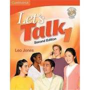 Lets Talk Students Book 1 with SelfStudy Audio CD by Leo Jones