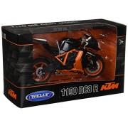 Welly KTM 1190 R RC8 Orange/Black Diecast Motorcycle Model 1/10