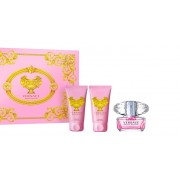 Versace Bright Crystal Gift Set EDT 50ml + Body Lotion 50ml + Shower gel 50ml