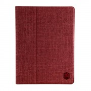 STM - iPad 9.7 (2018) Hoes - Book Cover Atlas Donker Rood