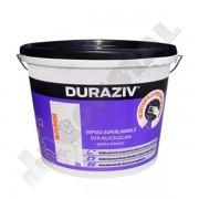 DURAZIV CU KAUCIUC - VOPSEA SUPERLAVABILA ALBA INT. 8.5 L