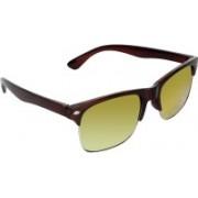 Zyaden Rectangular Sunglasses(Multicolor)