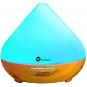 Difuzor Aromaterapie cu ultrasunete Led 7 culori oprire automata 300 ml