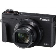 Aparat Foto Digital Canon Powershot G5X Mark II, Filmare UHD 4K, 20.1 MP, Zoom optic 5x + Kit baterie (Negru)