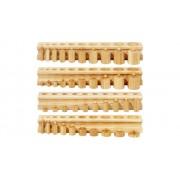 Betzold 4 Blöcke mit Einsatz-Zylindern