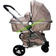 Cărucior nou născut Baby Care 2 in 1 YK 18 Maro