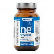 Herbaline Funkcjonalne suplementy diety, Dystrybutor: Pharmovit Sp. z Nervocal z dodatkiem BioPerine 60 kapsułek Vcaps PharmoVit Herballine