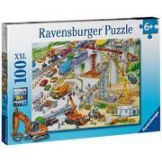 Ravensburger Big Construction Site, Multi Color (100 Pieces)