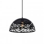 [lux.pro] Lámpara de techo de diseño con motivos negra - look industrial (E27)