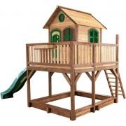 AXI Liam Playhouse: Maisonnette pour enfants, fenêtres intégrées et bois