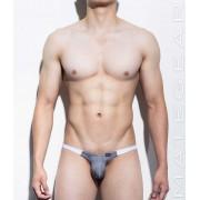 Mategear Kim Bae Tapered Sides V Front Series IV Maximizer Ultra Bikini Swimwear Grey 1160203