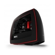 Gabinete Gamer NZXT Manta, Midi-Tower, mini-iTX, USB 3.0, sin Fuente, Negro/Rojo