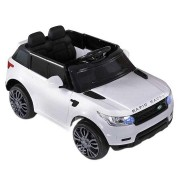 Big Fun Club Ride-On Kids' Range Rover Car, White