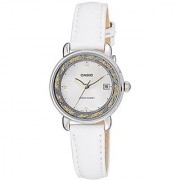 Casio Enticer Analog White Dial Womens Watch - Ltp-E120L-7A2Df (A1043)