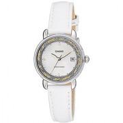 Casio Enticer Analog White Dial Womens Watch - Ltp-E120L-7A2Df (A1043)