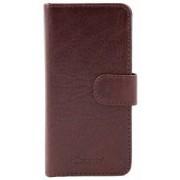 itZbcause Magnetic Wallet Case Bruin Samsung Galaxy S5