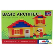 GRAPPLE DEALS Smart Blocks Basic Architect Set - Interlocking Architectural Set For Kids.(Multicolor)
